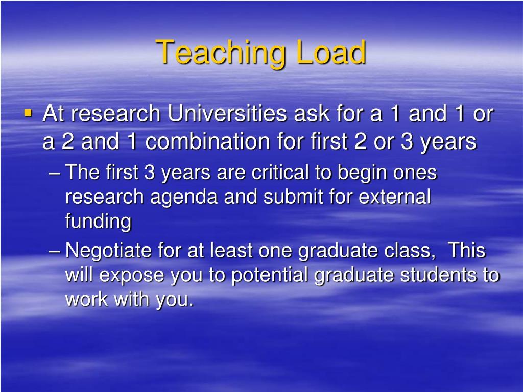 Teaching Load