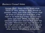business casual attire7