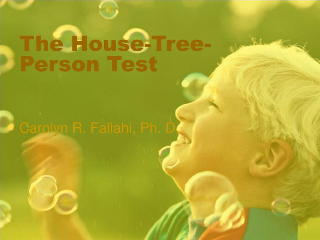 the house tree person test l.