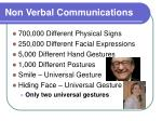 non verbal communications10