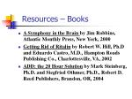 resources books
