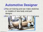 automotive designer