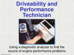 driveability and performance technician21