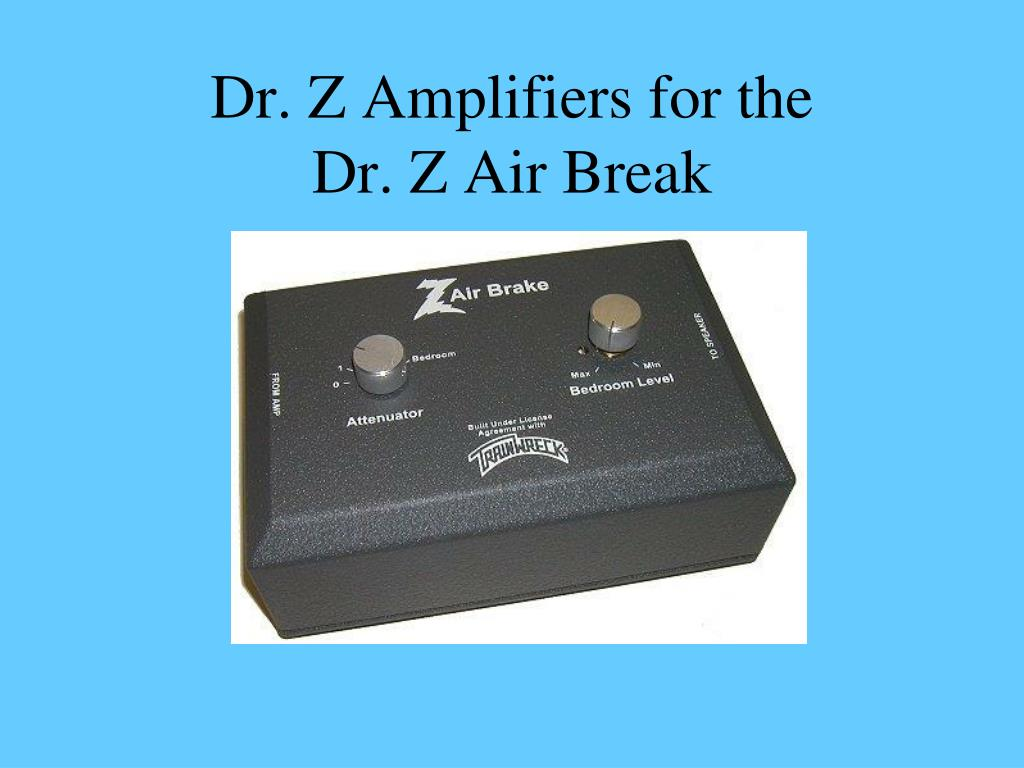 Dr. Z Amplifiers for the
