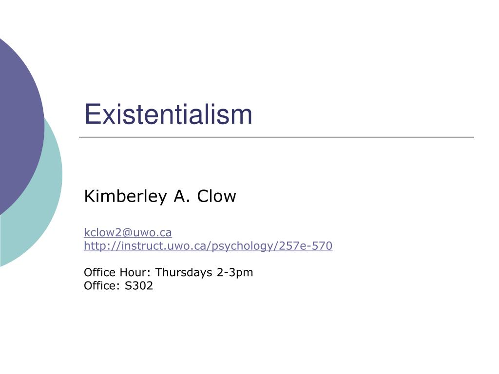 existentialism l.