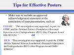 tips for effective posters39