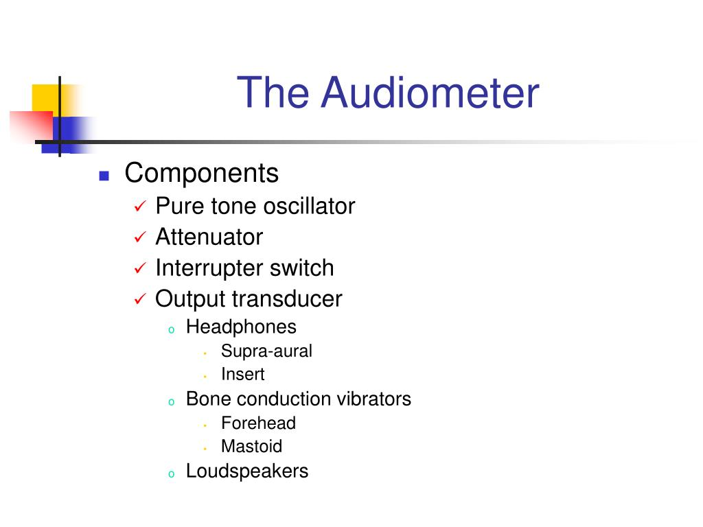 The Audiometer