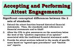 accepting and performing attest engagements25