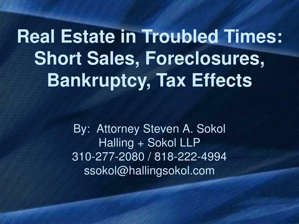by attorney steven a sokol halling sokol llp 310 277 2080 818 222 4994 ssokol@hallingsokol com l.