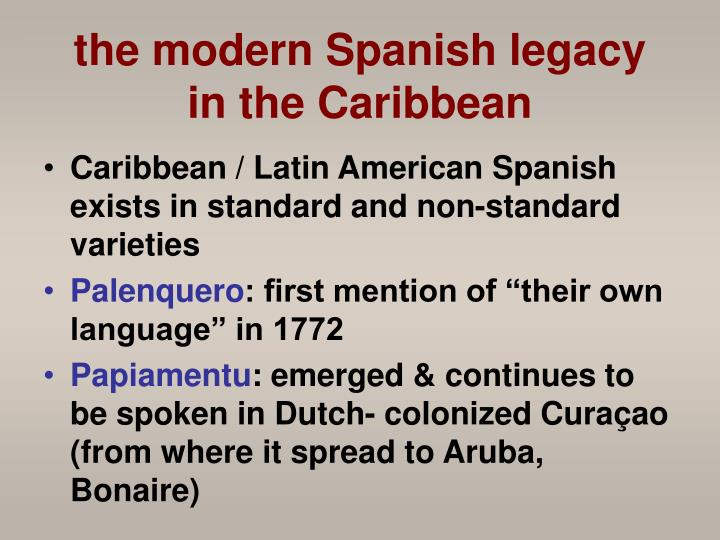 the caribbean language situation Implications for language education in guyana  paradox to the creole- influenced vernacular situation of the majority of caribbean children.