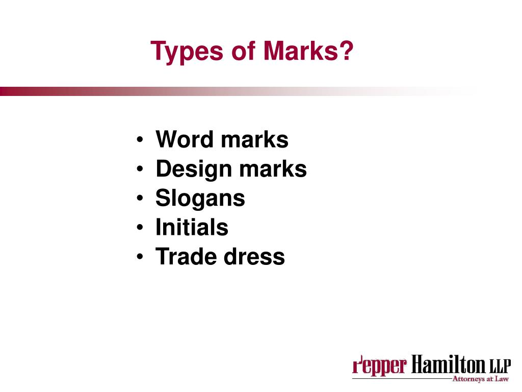 Types of Marks?