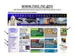 www neo ne gov worldwideweb nebraskaenergyoffice nebraska government
