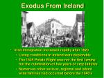 exodus from ireland