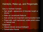 hairstyle make up and fingernails20