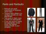 pants and pantsuits