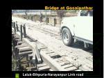 bridge at gosaipathar
