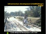infrastructure development roads singra bridge