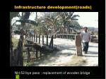 infrastructure development roads