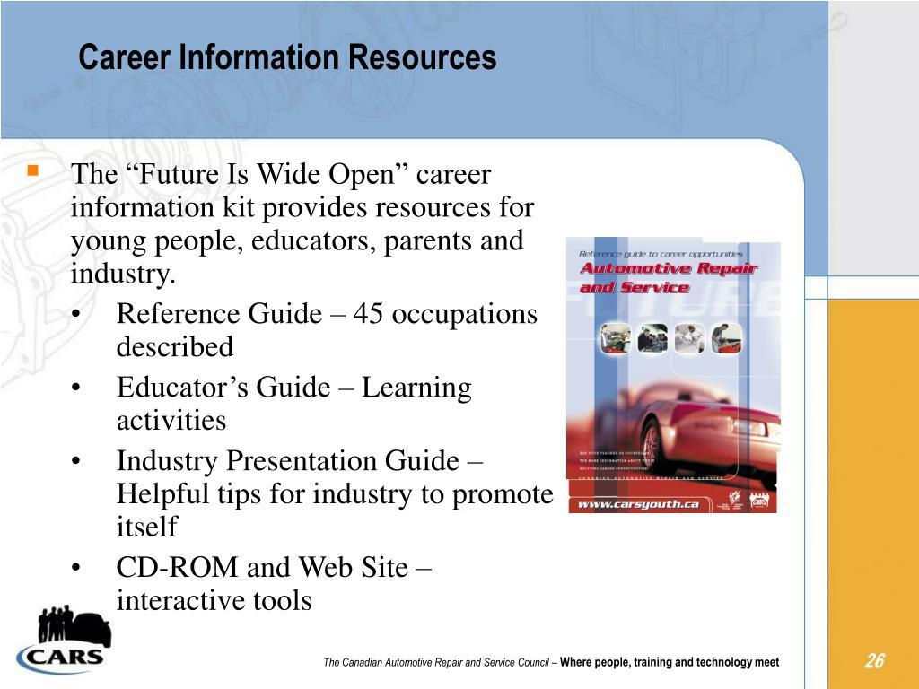 Career Information Resources