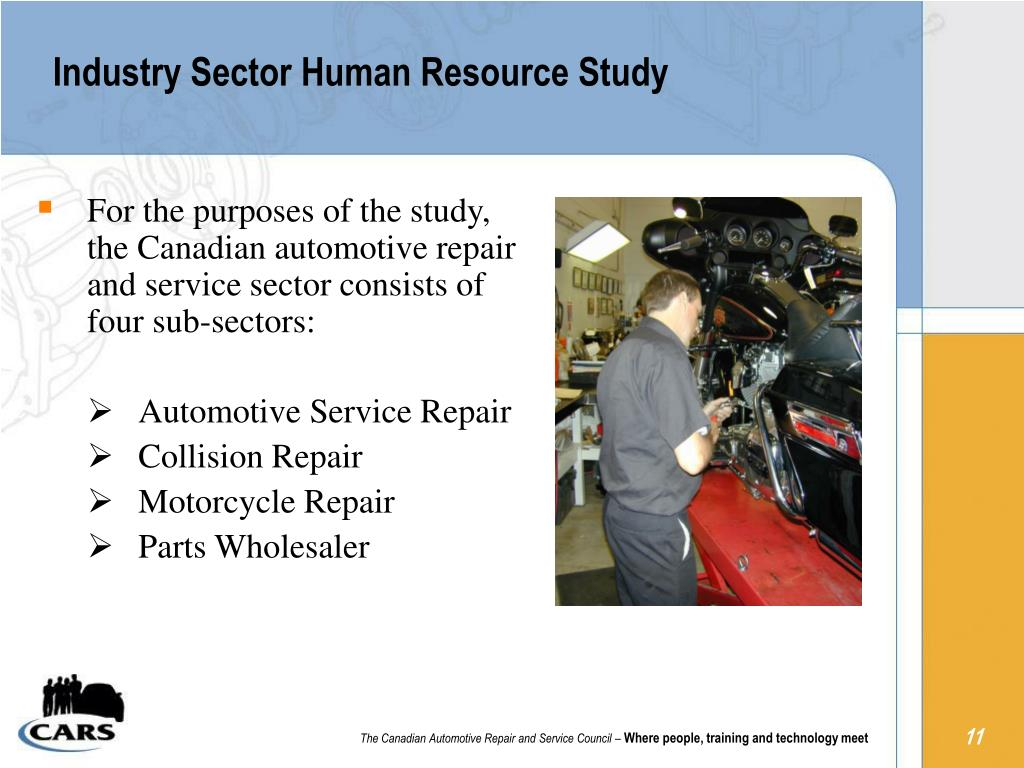 Industry Sector Human Resource Study