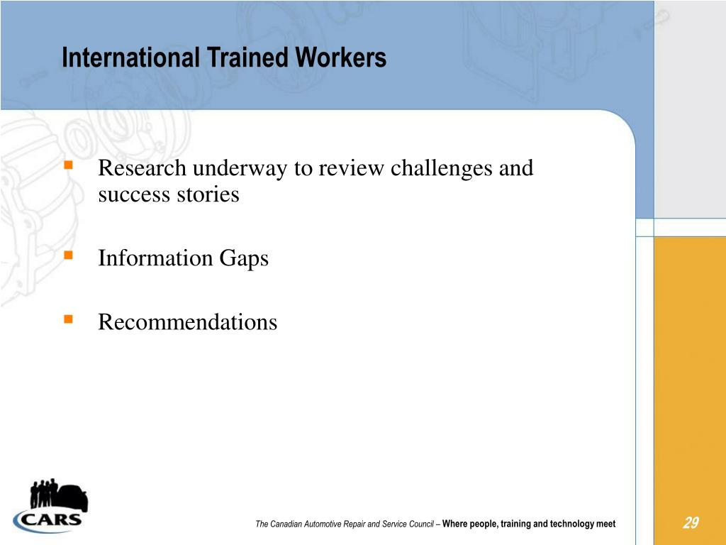 International Trained Workers