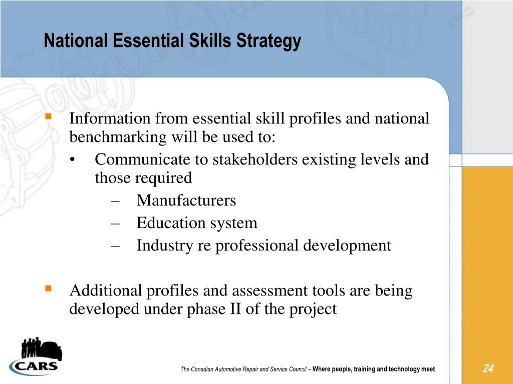National Essential Skills Strategy