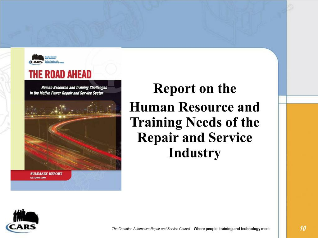 Report on the