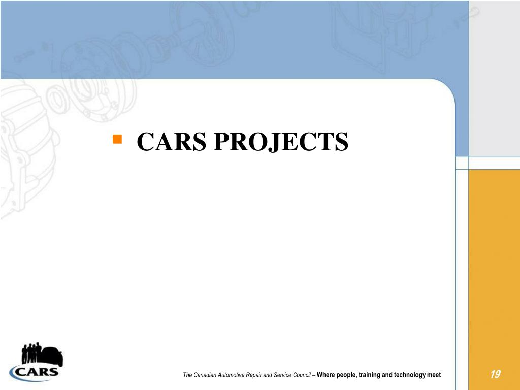 CARS PROJECTS