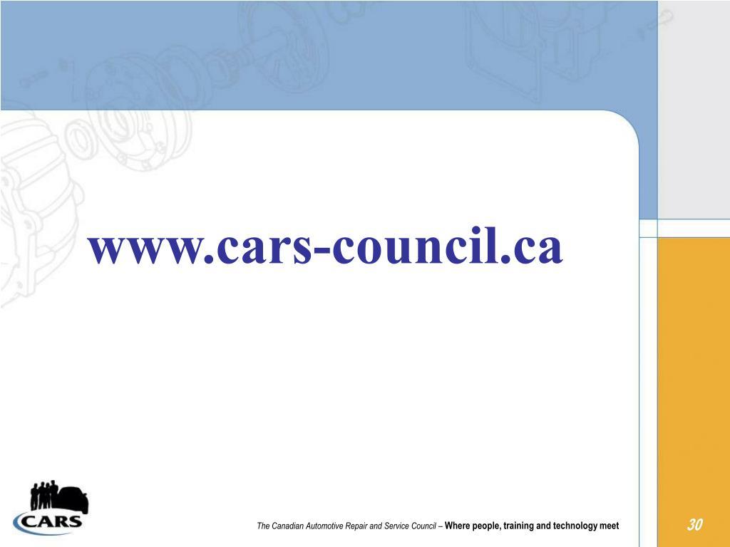www.cars-council.ca