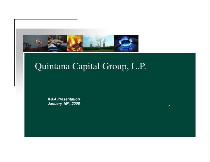 quintana capital group l p n.