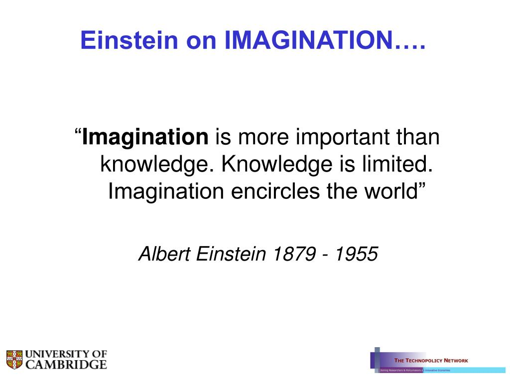 Einstein on IMAGINATION….
