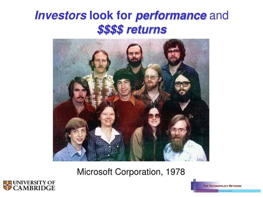 Microsoft Corporation, 1978
