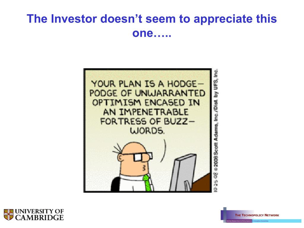 The Investor doesn't seem to appreciate this one…..