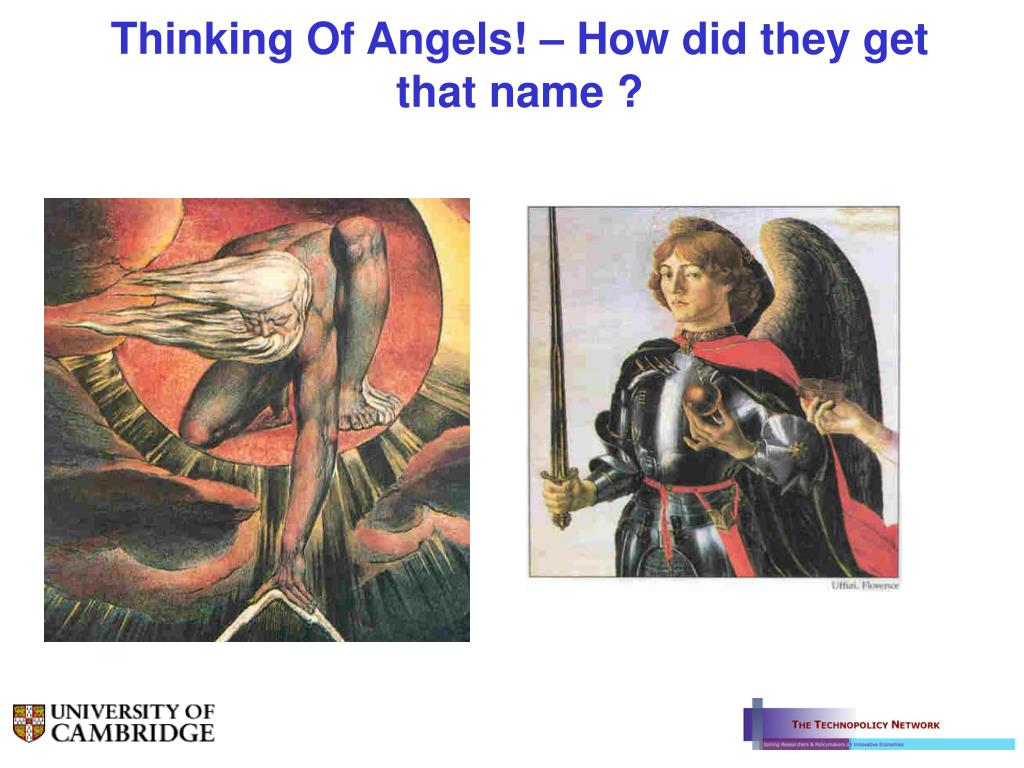 Thinking Of Angels! – How did they get that name ?