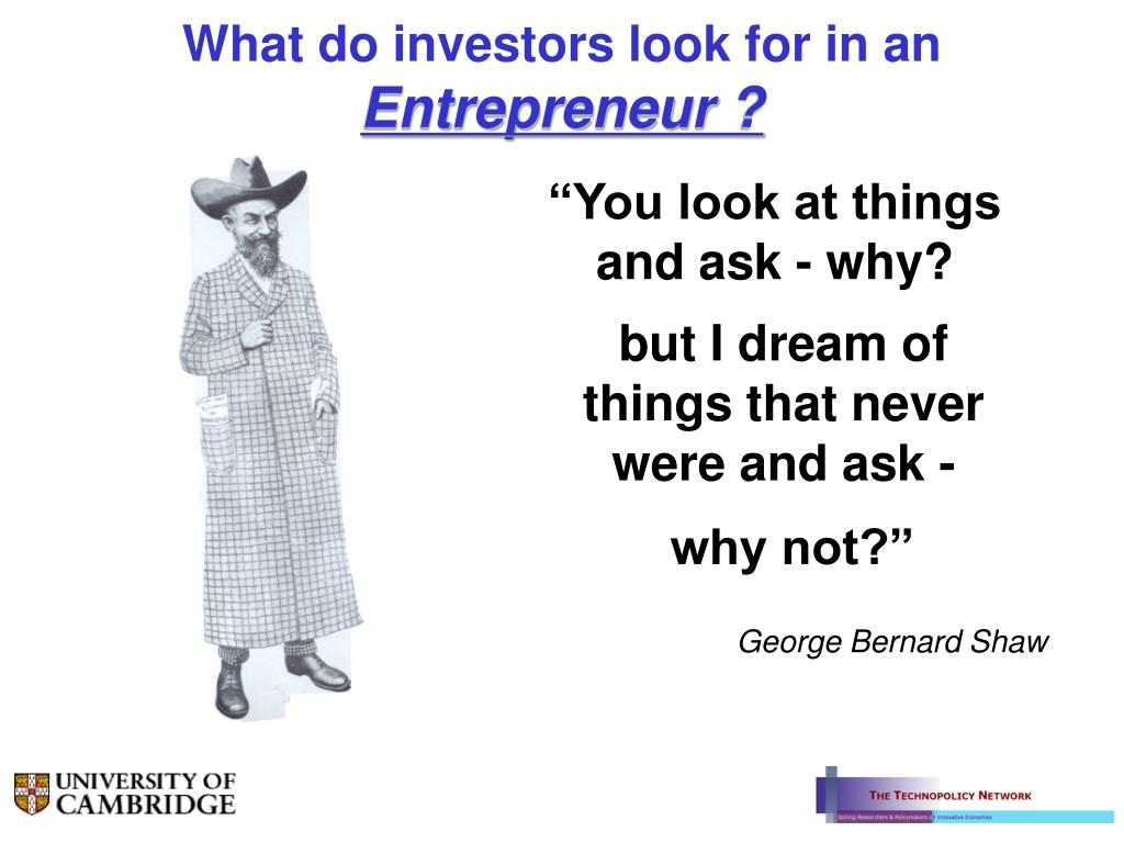 What do investors look for in an