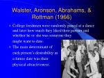 walster aronson abrahams rottman 1966