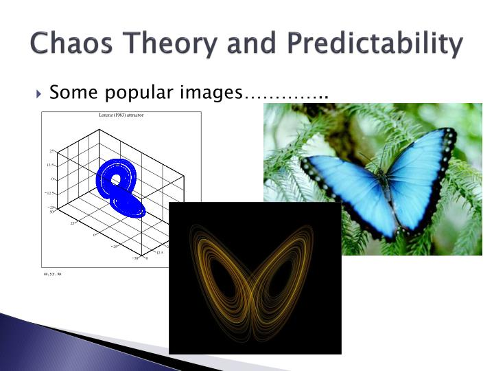 Chaos theory and predictability2