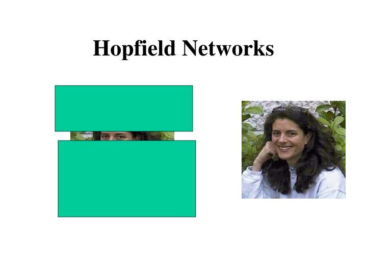Hopfield networks1