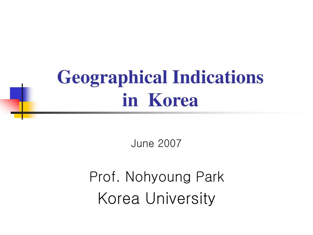 geographical indications in korea