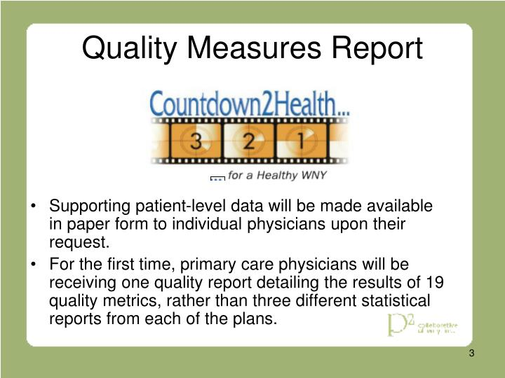 Quality measures report3