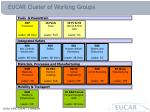 eucar cluster of working groups