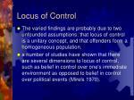 locus of control28