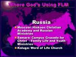 where god s using flm