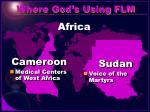 where god s using flm3