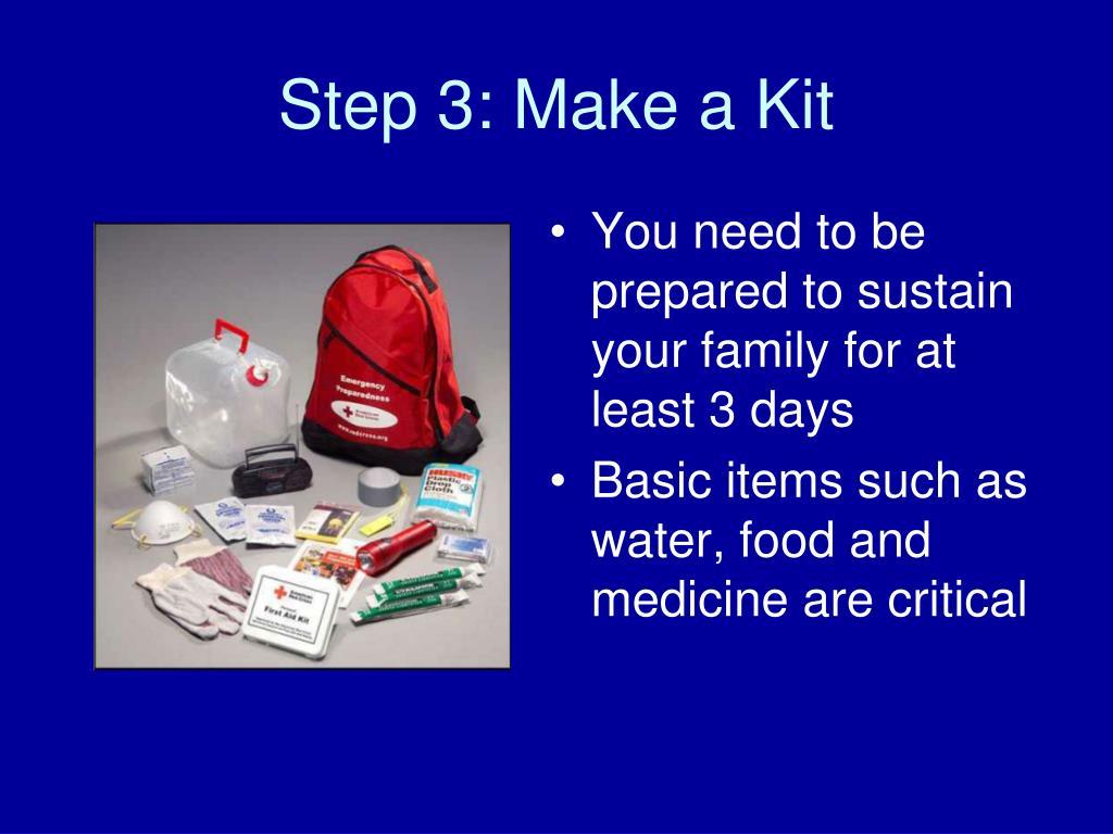 Step 3: Make a Kit