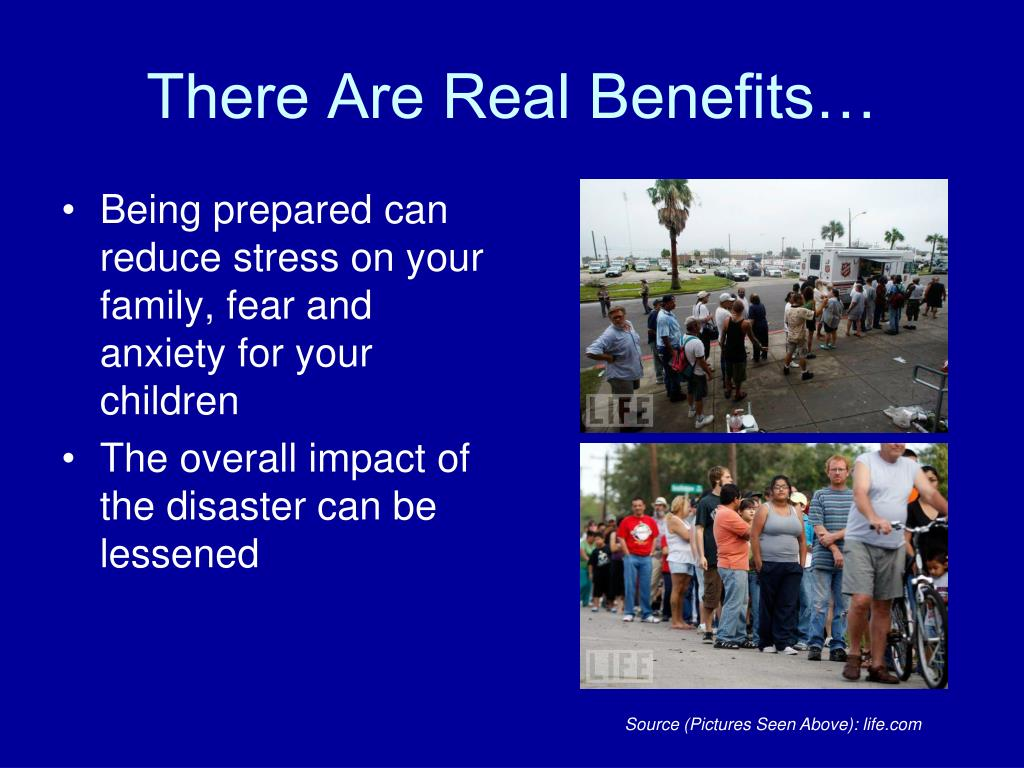 There Are Real Benefits…