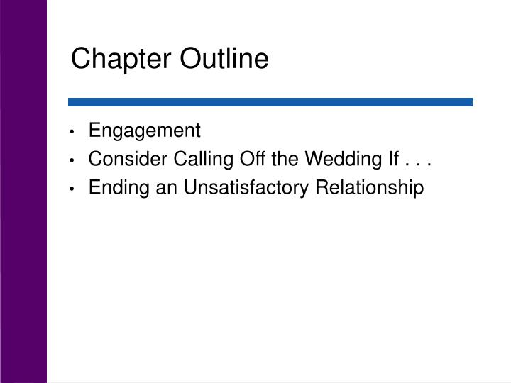 Chapter outline3