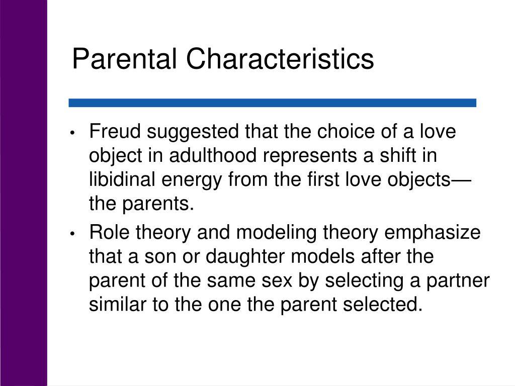 Parental Characteristics