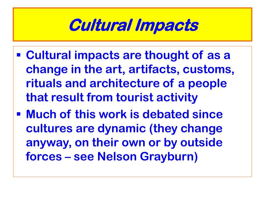 Cultural Impacts