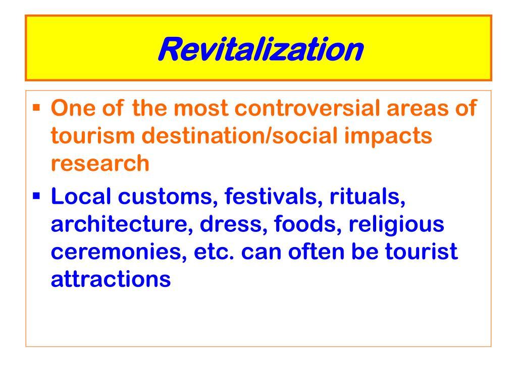 Revitalization